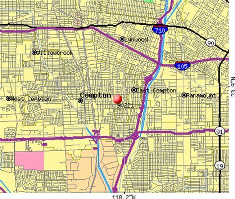 compton map compton ca zip code map zip code map