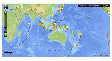 earthquake news indonesia magnitude 8 7 earthquake strikes near indonesia