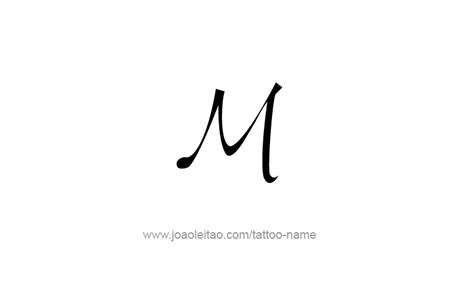 m tattoos designs m 1000 numeral designs tattoos with names