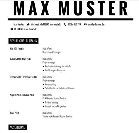 Lebenslauf Vorlage Max Mustermann Lebenslauf Muster Studium Fr Ihre Vorlage Beispiel 8 Ein
