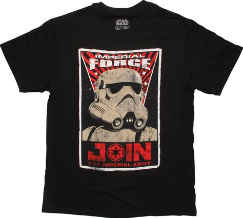 Tshirt Imperial Forces Logo wars join the imperial army t shirt sheer