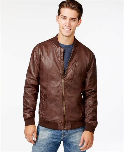 Leather Bomber Jacket brown leather bomber jacket jackets in my home