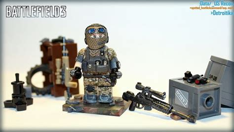 figure battlefield 4 battlefield 3 us recon custom minifigure custom lego