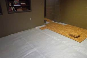 Basement Flooring Systems Sure Basement Systems Photo Album Thermal Flooring