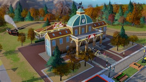 theme park ea ea officially announces simcity amusement park dlc egmnow