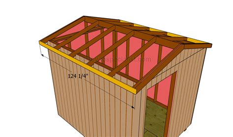 build  roof   shed