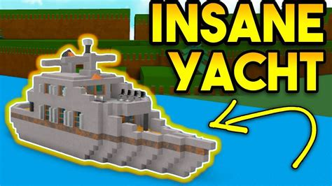 how to build a boat r on a river insane yacht epic boat roblox build a boat for tr