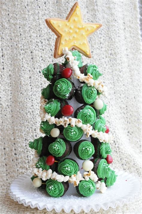 the cupcake christmas tree round 2 teaspoon living