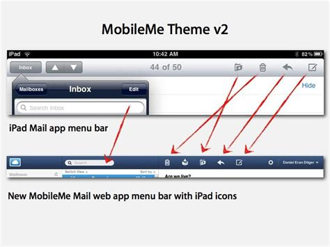 mobile me app inside apple s new mobileme web and ios apps
