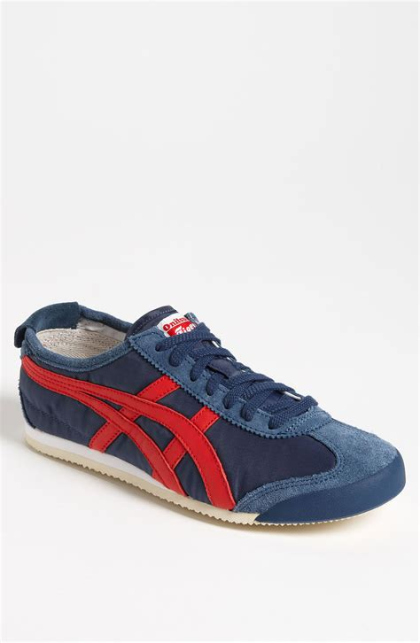 onitsuka tiger sneakers onitsuka tiger mexico 66 sneaker in blue for navy