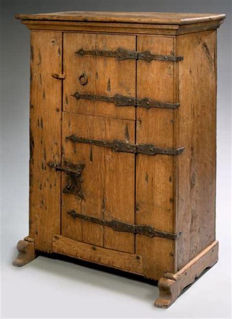 l armoire de fer armoire monastique bois de ch 234 ne et fer forg 233 h
