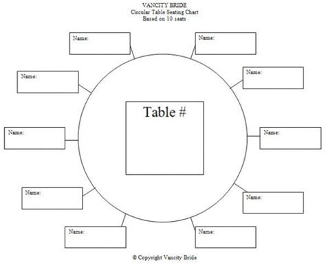 Table Assignment Template Google Search Wedding Wedding Table Chart Template