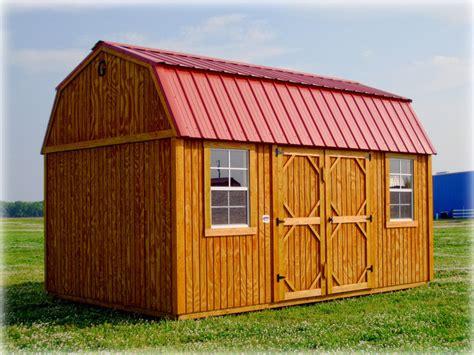 graceland side lofted barn discount portable buildings