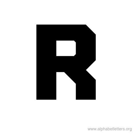 r in block letters printable block letter alphabets alphabet