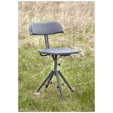 Primos Bull Qs3 Magnum Tri Stool by 360 Degree Silent Rotation To Take Advantage Of Every