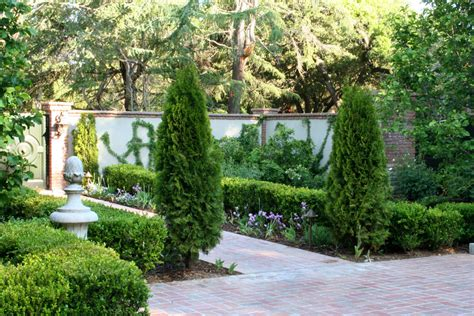 Design Classics Home Garden Inc by Black Aluminum Fence Landscape Traditional With Boxwood