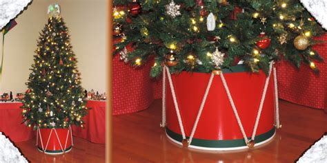christmas drum skirt learn tree drum
