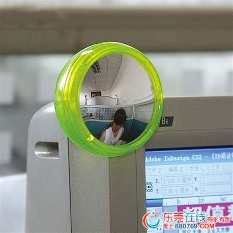 Office Desk Rear View Mirror Computer Laptop Monitor Vision Rearview Rear View Mirror Jpg