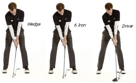 golf swing types same swing different clubs free online golf tips