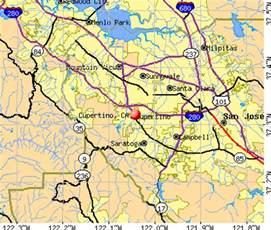 map of cupertino california cupertino california ca profile population maps real