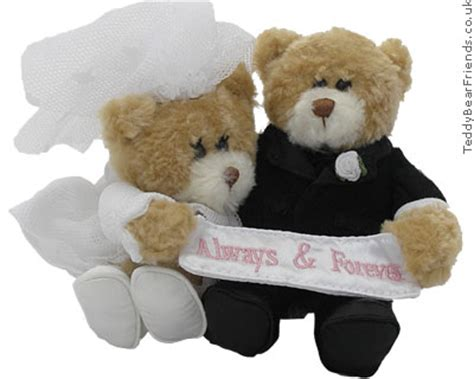 Wedding Bears by Wedding Always And Forever Gund Teddy Friends