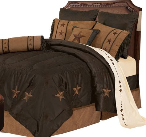 texas comforter set texas star western embroidered comforter set full