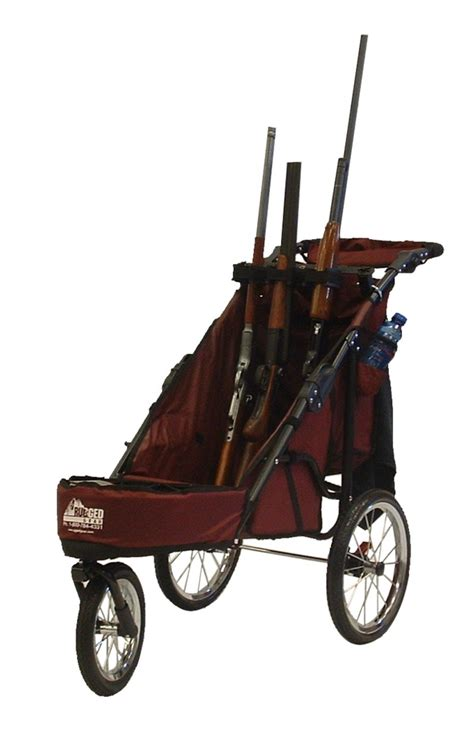 rugged gear cart rugged gear rugged gear 3 gun muzzles up shooting cart combo package rg15102 mu3 combo