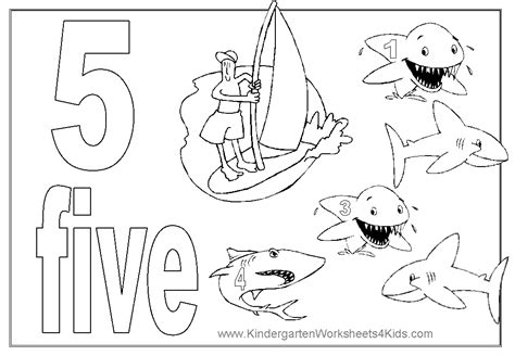 preschool coloring pages number 5 colouring pages numbers 1 5 pdf number colouring pages
