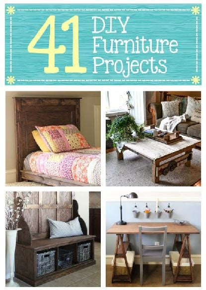 41 diy furniture projects diy cozy home