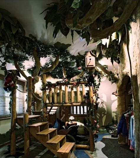 forest bedroom decor tree house kids fantasy for the playroom or kids rooms