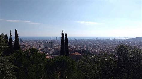mirador joan sales vistas de barcelona desde el parc g 252 ell mirador joan
