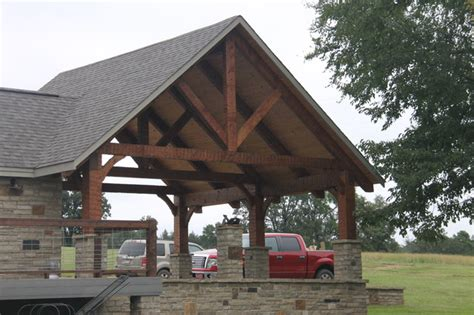 Rustic Carports hewn timberframe carport rustic garage and shed rock by appalachian log and