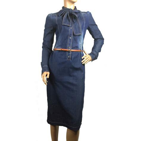 Dress Ld100 Denim Gucci gucci dress dresses denim blue ref 36842 joli closet