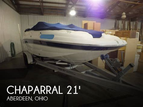 chaparral boats for sale in ohio canceled chaparral sunesta 210 boat in aberdeen oh 096633