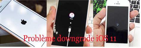 solutions downgrade ios  bloque en mode recuperationdfulogo pomme