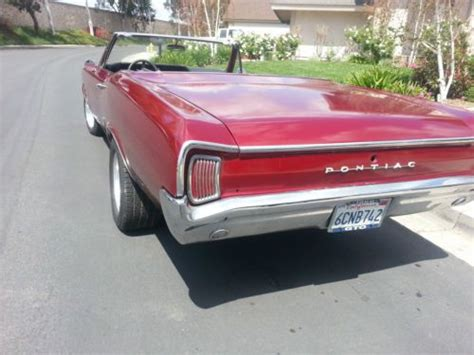 auto manual repair 1966 pontiac tempest seat position control sell used 1966 pontiac tempest convertible gto clone in tustin california united states
