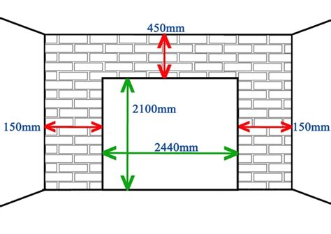 Singledouble Door Measurements Standard Single Garage Door Size