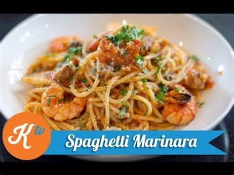 cara membuat seblak pasta cara membuat spaghetti marinara youtube