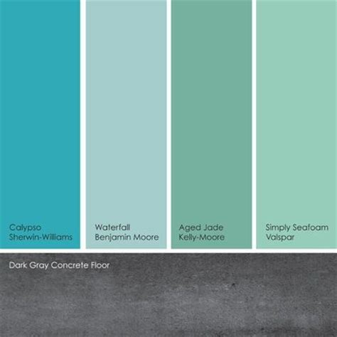 valspar green paint colors and paint color schemes on