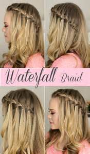waterfall hairstyle step by step how to do a waterfall braid step by step guide