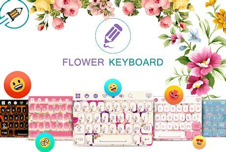 flower design with keyboard flowers keyboard apps on google play