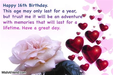 Quotes For Sixteenth Birthday 16th Birthday Quotes For Birthday Quotesgram