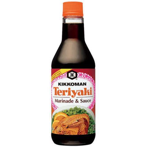 kikkoman teriyaki marinade sauce 15 fl oz walmart