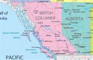 map of bc and alberta canada alberta independence and columbia new alberta