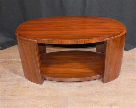 deco table oval deco rosewood coffee table tables