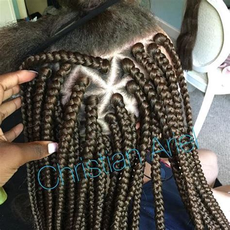 parting hair for box braids triangle parting box braids hair pinterest box