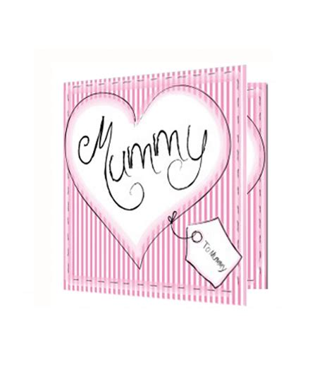Name Cards For Gifts - personalised heart stitch any name card just for gifts