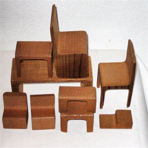 furniture 60s sale 20 00 vintage set of wood doll furniture 60s 70s modern 9