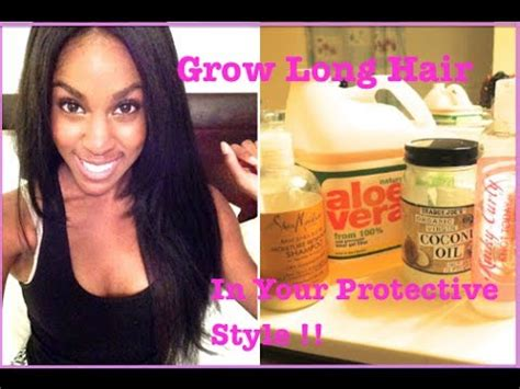 protective styles for black hair growth natural hair how to grow long hair in your protective