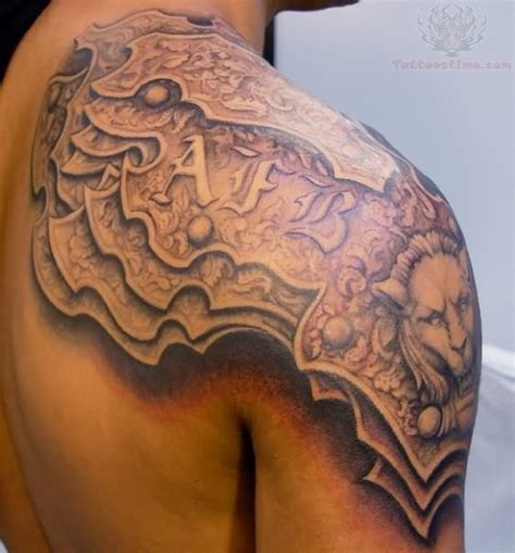 upper shoulder tattoo 17 best images about 3d tats on armour